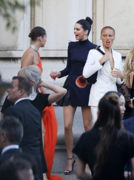 Dîner de la Fondation Vogue - Bella Hadid et Kendall Jenner