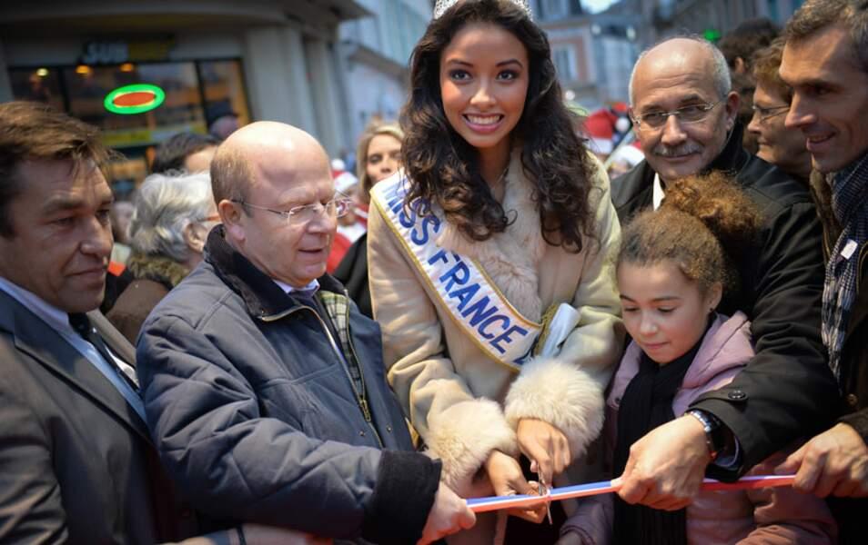 Les maires de Morancez, sa commune, mais aussi de Chartres et Orléans sont venus voir la reine de beauté