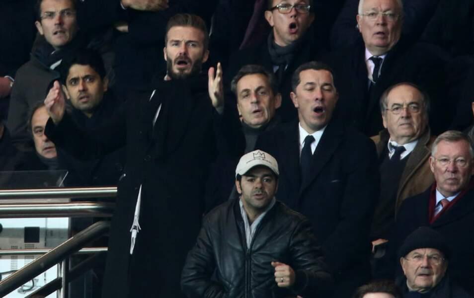 Et à voir la tête de David Beckham, c'est passé à côté