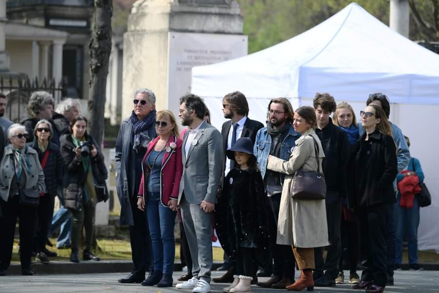Obsèques d'Agnès Varda au cimetière du Montparnasse