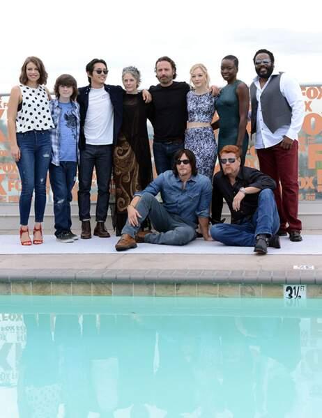 Le casting de la série The Walking Dead