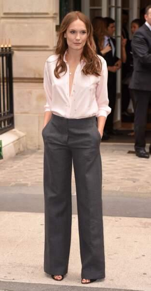 Défilé Christian Dior haute couture 2016-2017 : Ana Girardot