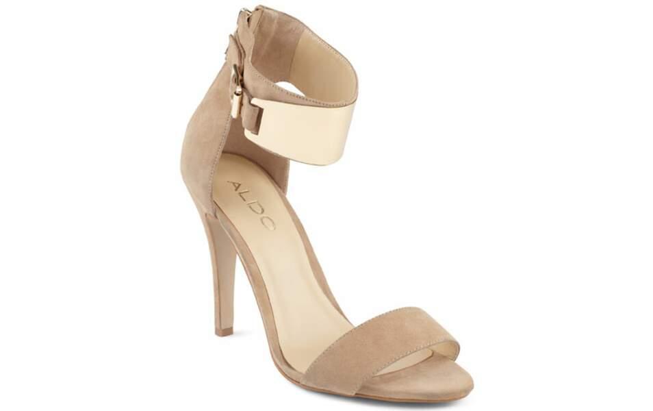 Sandales, 79 € (Aldo)