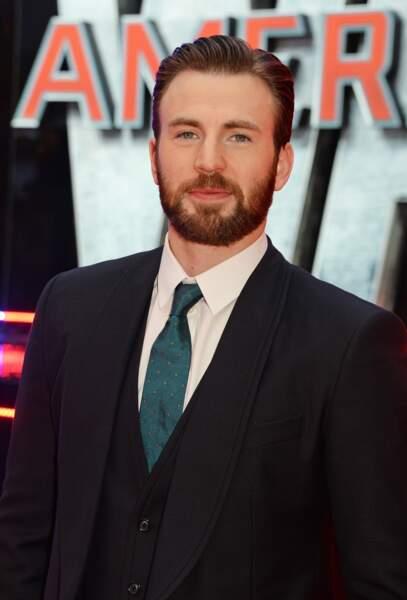 Avant-première de Captain America: Civil War - Chris Evans alias Captain America