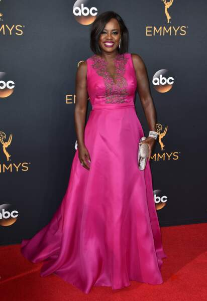 Emmy Awards 2016 : Viola Davis en Marchesa