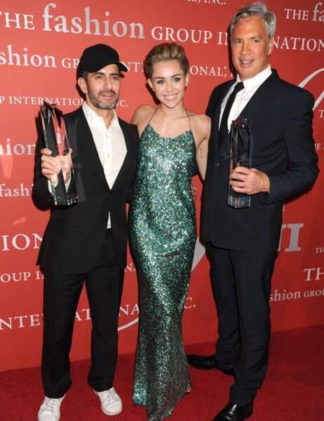 Marc Jacobs, Miley Cyrus et Robert Duffy