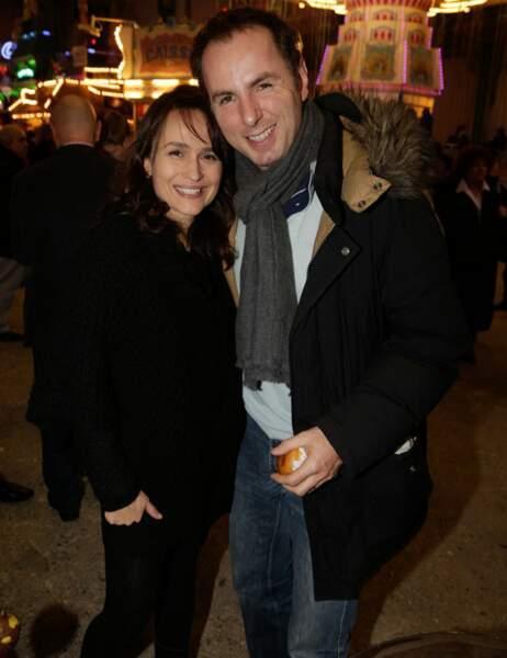 Jean-Philippe Doux, le chroniqueur de M6, a passé la soirée avec sa femme