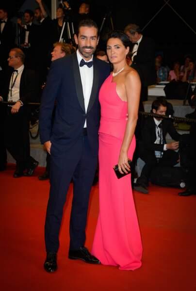 Le champion du monde 98, Robert Pirès et sa femme