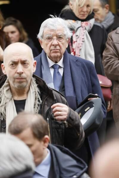 Obsèques de Michel Legrand à Paris : Jean-Pierre Chevènement