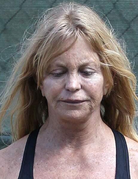 OMG !!! Goldie Hawn se rend à sa séance de sport