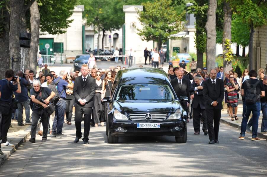 Obsèques de Sonia Rykiel au cimetière du Montparnasse