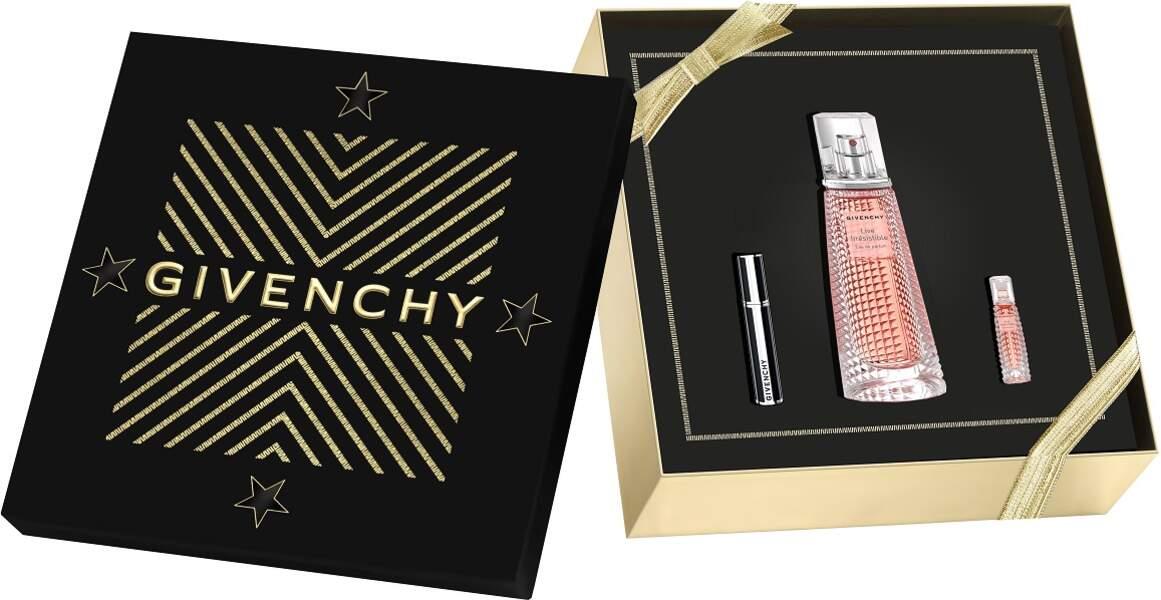 Coffret Live Irrésistible. 64,95€, Givenchy en exclusivité chez Sephora.