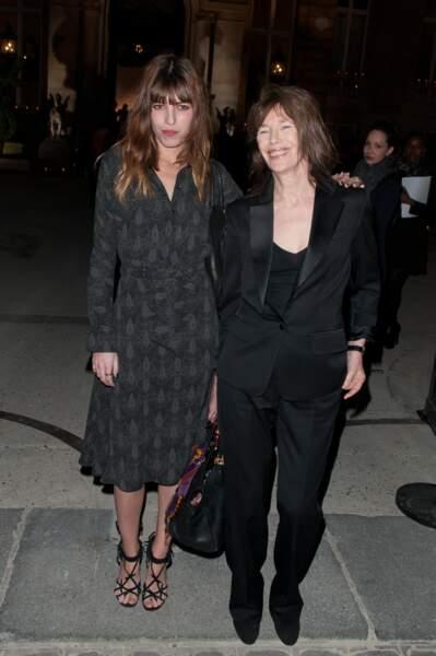 Jane Birkin et Lou Doillon, le chic parisien