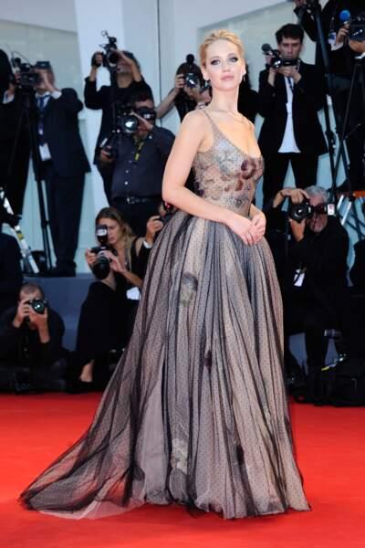 Mostra de Venise 2017 : Jennifer Lawrence en Dior
