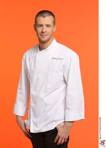 Mickaël Riss, 23 ans, St Sorlin-en-Valloire / Chef de cuisine L'Auberge du moulin