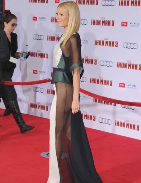 Gwyneth Paltrow avait fait sensation dans cette robe très transparente