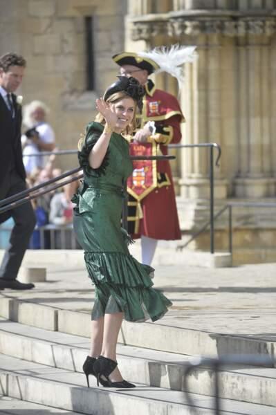 Beatrice d'York au mariage d'Ellie Goulding
