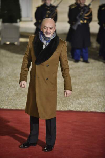 Christian Louboutin, le célèbre créateur de souliers aux semelles rouges