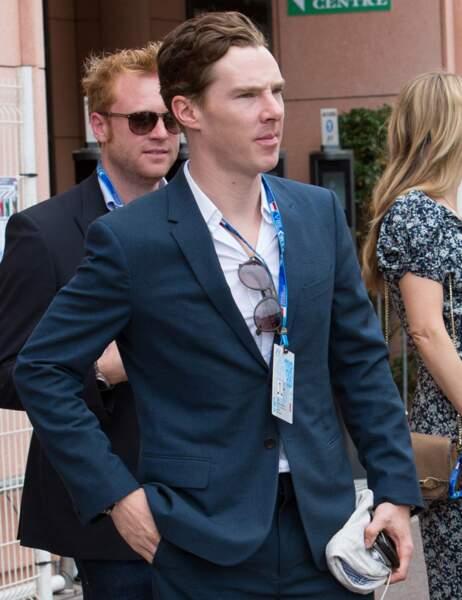 Benedict Cumberbatch au Grand Prix de Monaco