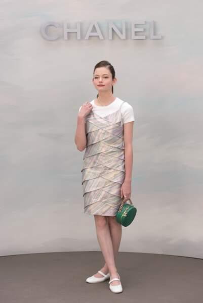 Défilé Chanel : Mackenzie Foy
