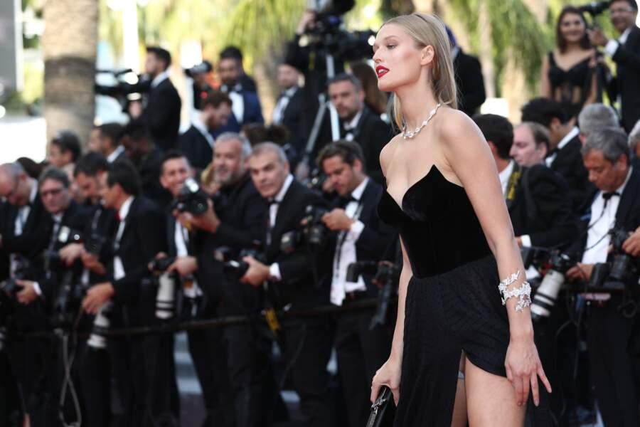 Festival de Cannes, les accidents de tenue les plus sexy - Toni Garrn