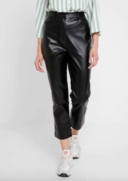 Pantalon en simili cuir, Fashion Union sur Zalando, 43,99€