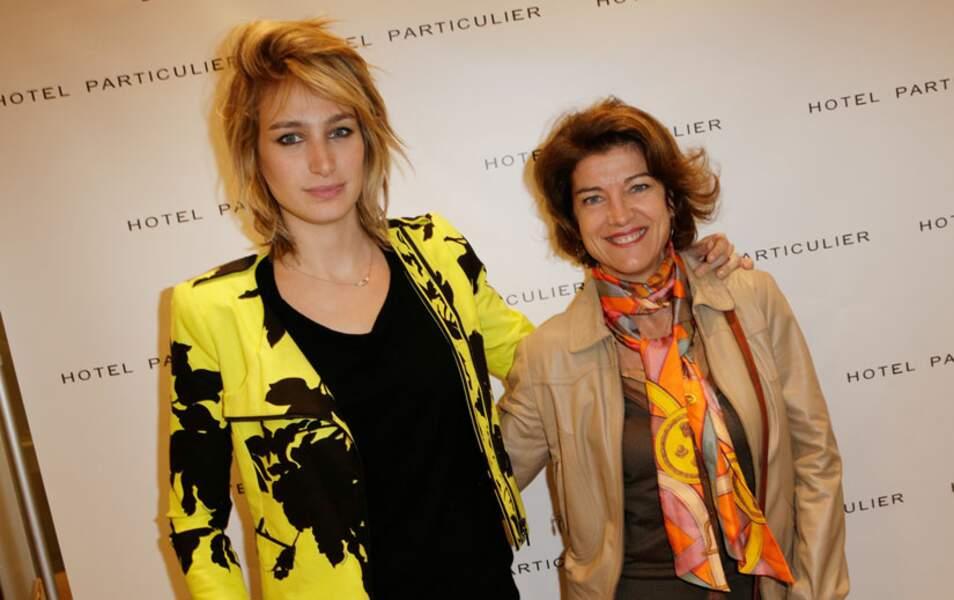 Pauline Lefèvre et Marielle Fournier
