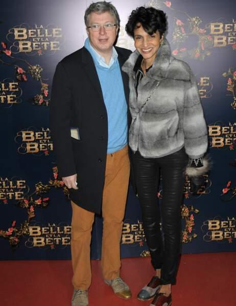 Henri Seydoux et sa femme, le top model Farida Khelfa