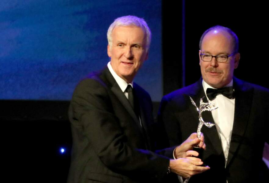 Princess Grace Awards : James Cameron et Albert de Monaco
