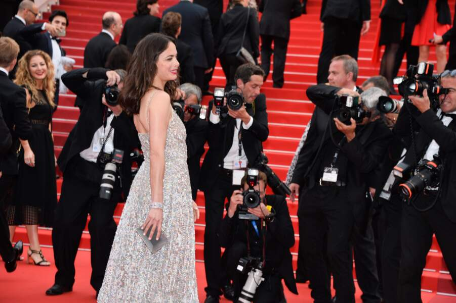 Bérénice Bejo prend la pose