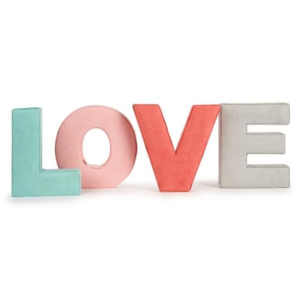 Lettres Love, 24,99€, Alinéa.