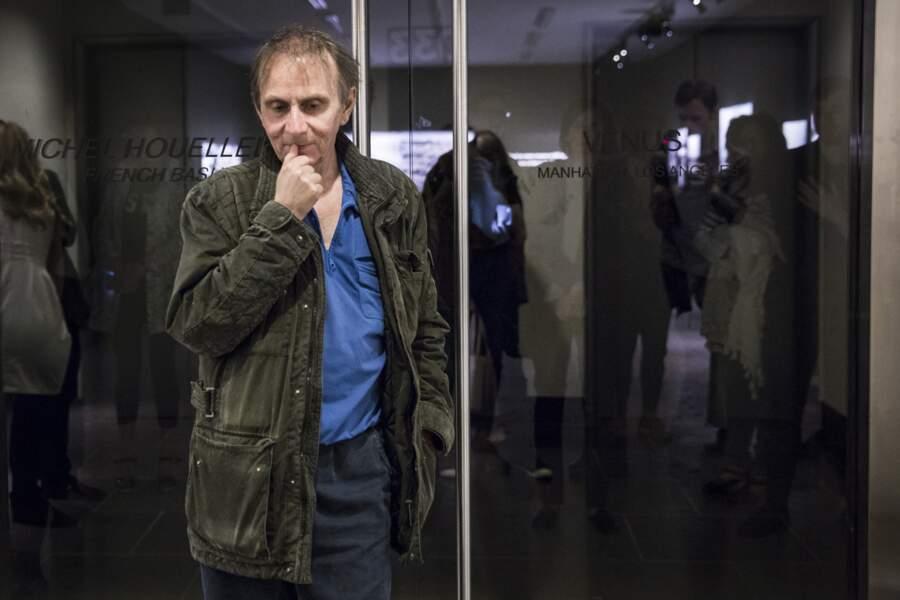 Houellebecq expose ses photos a New York en 2017