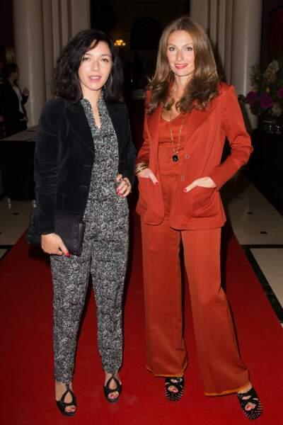 Les Brigitte, alias Sylvie Hoarau et Aurélie Saada