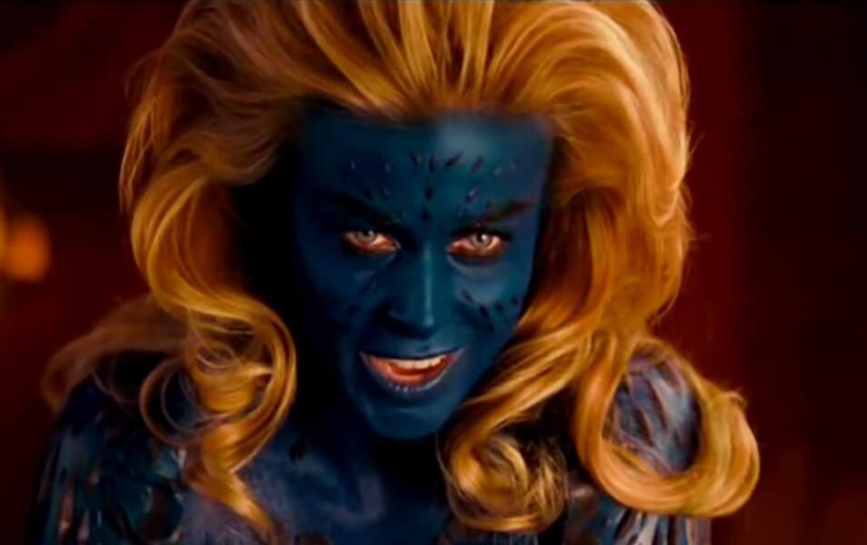 Mystique dans X-Men 1, 2 et 3 est...
