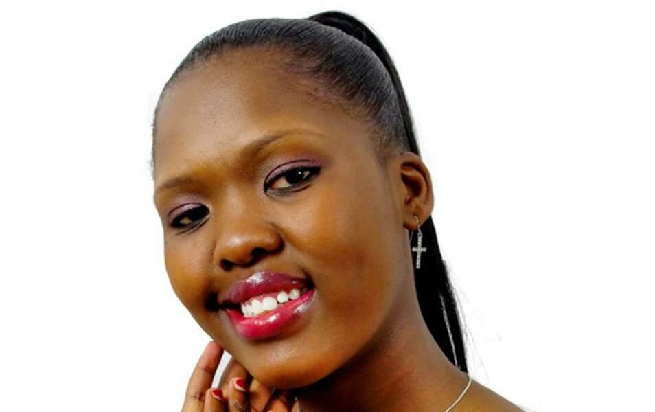 Miss Lesotho Mamahlape Caroline Matsoso, 19 ans, 1m70