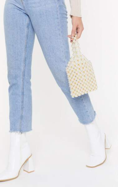 Mini sac en perles, Nasty Gal, actuellement à 37,44€