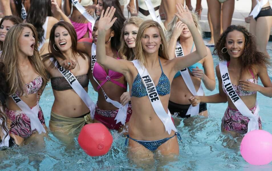 Les prétendantes à Miss Univers 2015 en maillot de bain