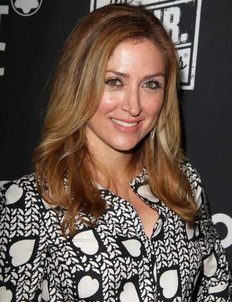 Sasha Alexander, 41 ans, est depuis 2010 Maura Isles dans la série policière Rizzoli & Isles
