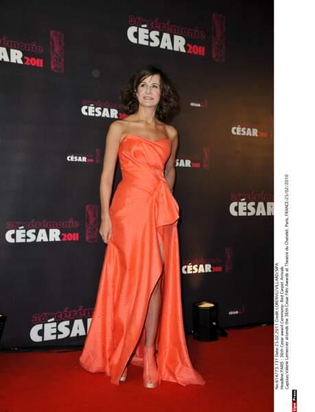 Valérie Lemercier en 2010 aka Orange is the new black