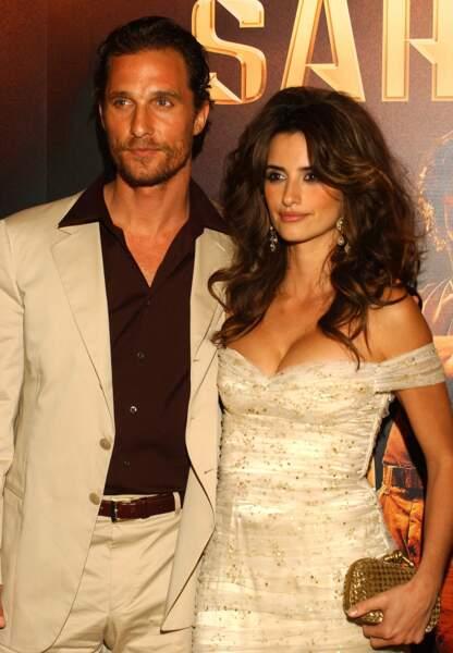 Matthew McConaughey et Penélope Cruz en couple de 2005 à 2006