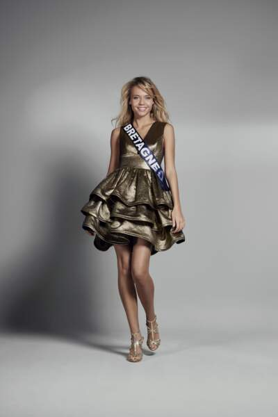 Miss Bretagne : Maurane Bouazza – 20 ans