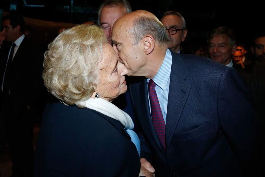 Bernadette Chirac a salué Alain Juppé