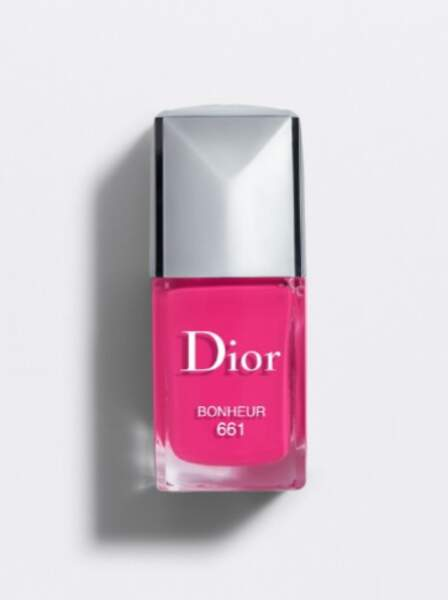 "Vernis à ongles ""Bonheur"", Dior, 27€"