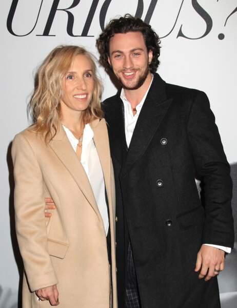 La réalisatrice Sam Taylor-Johnson et son mari Aaron Taylor-Johnson