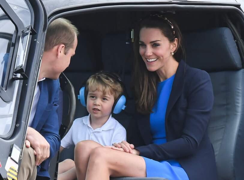 Pour finir, Georgie avait l'air plutôt content. Quelle mignonnerie d'enfant !