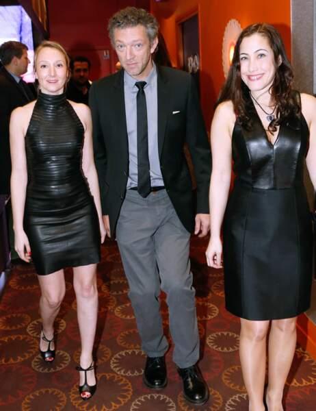 Audrey Lamy, Vincent Cassel et Myriam Charleins