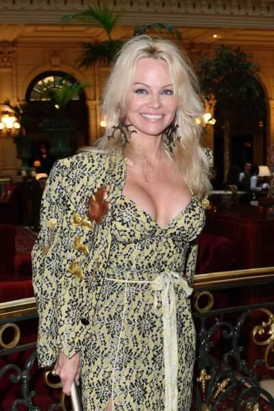 Pamela Anderson, la compagne d'Adil Rami (et star internationale)