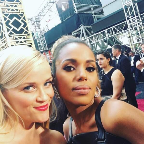 Reese Witherspoon et Kerry Washington : plus que trois et les Spice Girls sont de retour