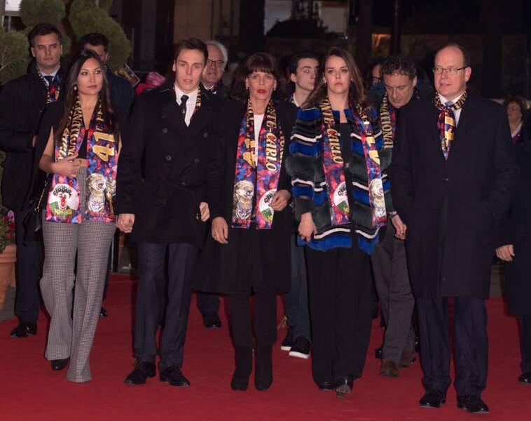 Louis Ducruet : amoureux, le fils de Stéphanie de Monaco s'affiche avec sa chérie et (presque) toute sa famille