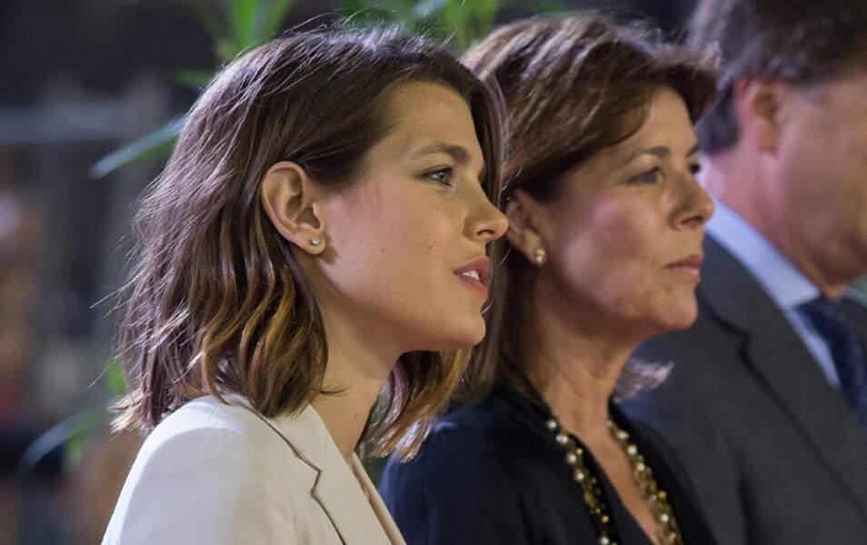 Charlotte Casiraghi et sa maman, la princesse Caroline de Monaco